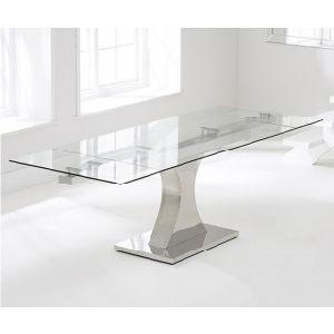 Elegant Modern Italian Design Creative Dining Table Stainless Steel