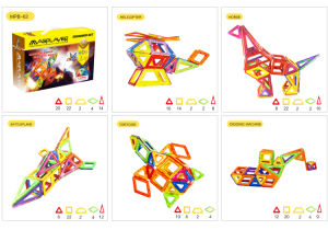3D Educational Magnetic Baby Toys with Rare Earth Magnet and ABS pictures & photos