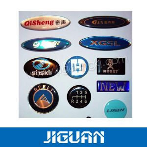 Factory Price out Door Use Logo Design 3m Epoxy Sticker pictures & photos