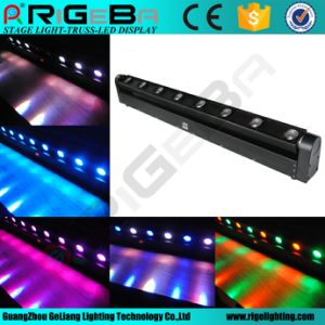 8*10W 4in 1 Indoor LED Beam Moving Head Bar Light pictures & photos