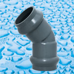 Rubber Ring PVC Pressure Fittings pictures & photos