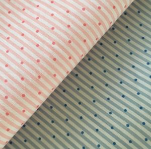 china quality nylon cotton spandex strip print fabric