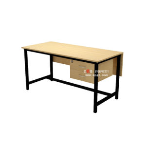 School Furniture Wooden Teacher Office Table with Drawer pictures & photos