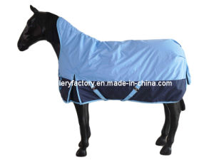 Waterproof Breathable High Neck Horse Rugs (SMR1608) pictures & photos