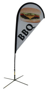 Custom Feather Flag Outdoor Polyester Flag for Sale pictures & photos