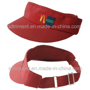 Promotional Taslon Microfiber Cloth Custom Sun Visor (TMV2023-1) pictures & photos