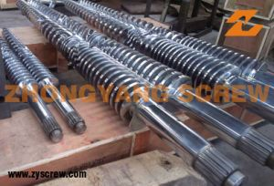 Conical Twin Screw Barrel and Twin Conical Screw Barrel pictures & photos