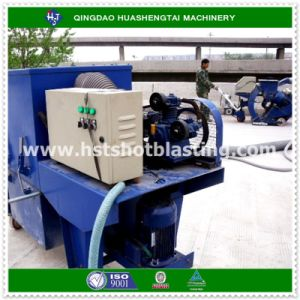 Concrete Bridge Deck Dustless Stripping Shot Blasting Machine