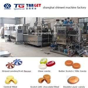 Two Color Two Flavor Kopiko Hard Candy Depositing Complete Machine Line pictures & photos