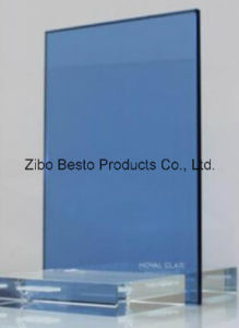 Big Tall Blue and Green Glass for Buildings (manufacture)
