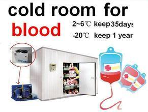Medical Refrigeration Cold Room for Blood pictures & photos