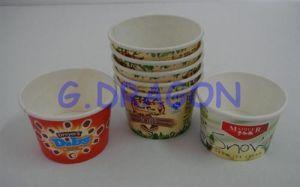 Disposable Insulated Paper Yogurt Cups (PC006)