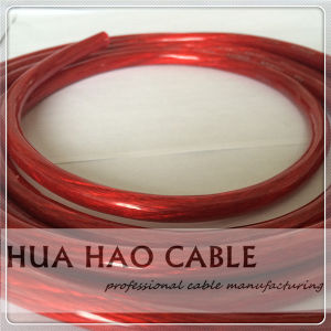 Red PVC Sheath Copper/Tined Copper/CCA Conductor Car Power Cable/Car Jumper Cable/Car Booster Cable pictures & photos