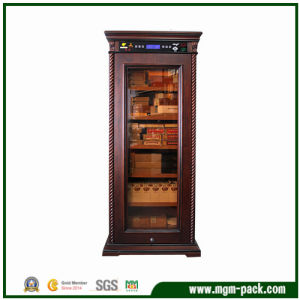 Freestanding Refrigerated Wooden Cigar Cabinet pictures & photos