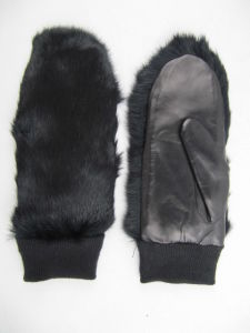 Lady Fashion Leather Gloves (JYG-23012) pictures & photos