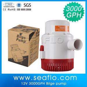 Seaflo 12V 3500gph DC Automatic Bilge Pump pictures & photos