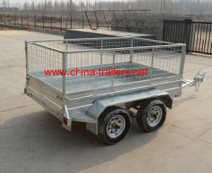 Double Axle Utility Box Trailer (TR0302) pictures & photos