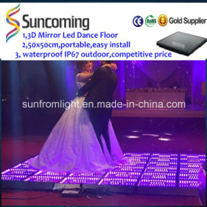 Easy Installation 3D Mirror Time Tunnel Portable LED Dance Floor pictures & photos