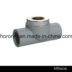 CPVC Sch80 Water Pipe Fitting (FAMALE THREAD TEE)