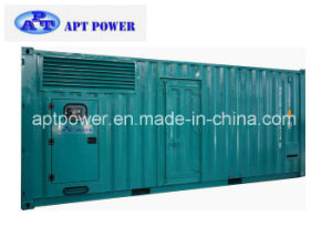 20FT Containerized Silent Generators 720kw with Fuel Tank