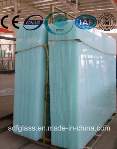 Milky White PVB Laminated Glass with Ce ISO