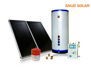 Flat Plate Solar Collector System with Controller pictures & photos