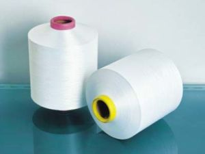 Polyester DTY Normal Poly/Cationic 50/50 100d/144f, Yarn pictures & photos