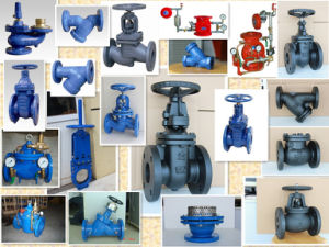 BS5152 Double Flange Globe Valve with Handwheel Operator pictures & photos