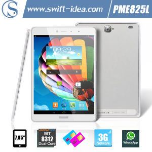 7.85 Inch HD Mtk8312 Dual Core 8GB ROM Android Best 3G Tablet (PME825L)