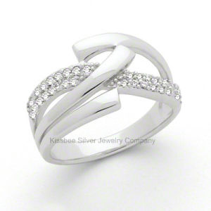 Hot Selling 925 Sterling Silver Jewelry CZ Ring (R7754) pictures & photos