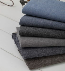Cotton Brushed Chambray Woven Fabric pictures & photos