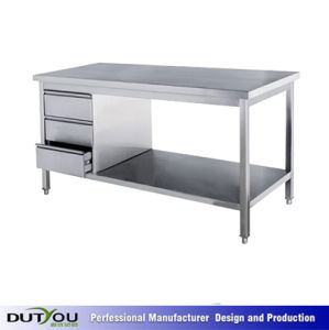 Custom Stainless Steel Kitchen Workbench