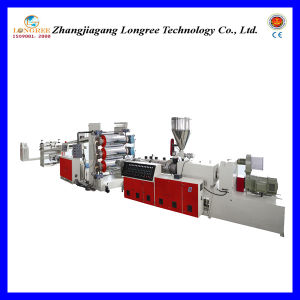 Plastic PVC Sheet Extrusion Line (0.2-2.0mm thickness) pictures & photos