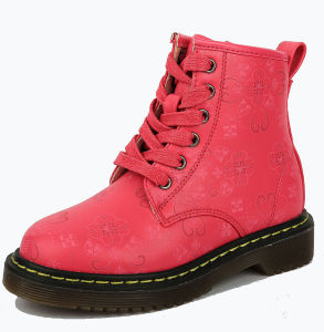 China Winter Pink Ankel Snow Boot Children Funny Shoes Kids Girls