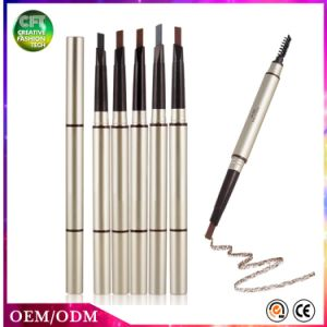 New Design Free Sample 5 Colors Waterproof Makeup Eyebrow Pencil with Brushes pictures & photos