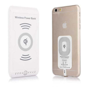 d5655e98d0b40f China Wireless Charging Power Bank Qi Wireless Charger with Large ...