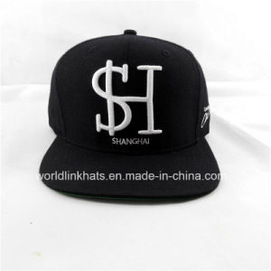 960b6983e2b24 China Headwear Custom 3D Embroidery Flat Brim Snapback Cap Hip Hop ...