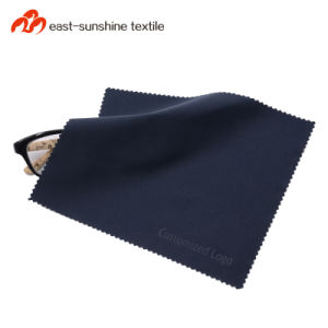 Personalized Microfiber Eyeglasses Cleaning Cloth Eyeglass Cleaner with Embossing pictures & photos