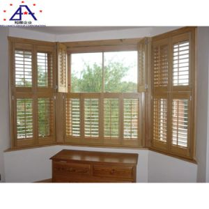 2018 Shades Removable Posun Glass Folding White Aluminum Windows Interior  German Plantation Window Shutters From China