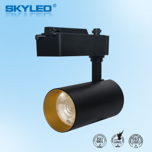 30w Cob Dimmable Led Tracking Lighting Track Spotlight