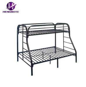 China Twin Over Full Bunk Bed Metal Frame With Ladder Kids Bedroom
