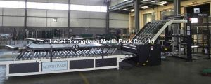 Semi Automatic Corrugated Paper Laminating Machine pictures & photos