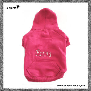 Name or Logo Embroidered Customized Dog Hoodies Sph6001-17 pictures & photos