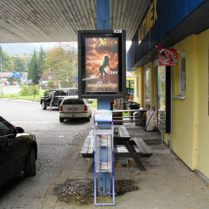 Pole Hanged Scrolling Light Box for Street Advertising pictures & photos