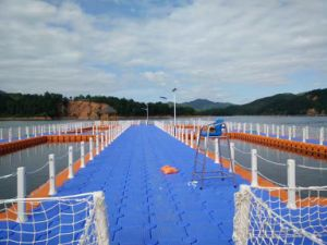 Plastic Pontoon Floating Platform