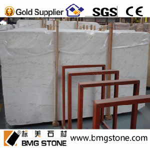 Building Material Volakas White Marble for Flooring/Vanity Top/ Countertop