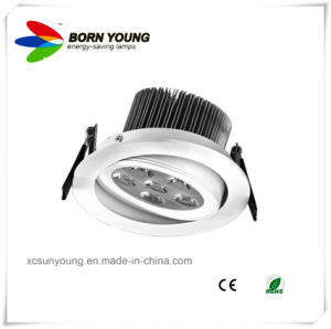 Adjustable LED Recessed Ceiling Spotlight CE&RoHS