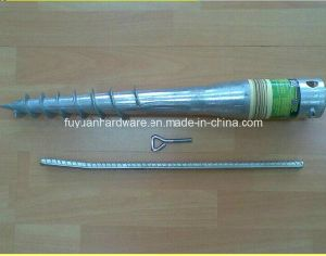 Hot Dipped Galvanized Steel Small Earth Ground Screw Anchor pictures & photos