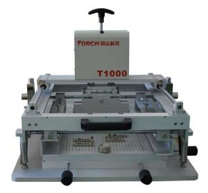 Manual Desk Solder Paste Stencil Printer pictures & photos