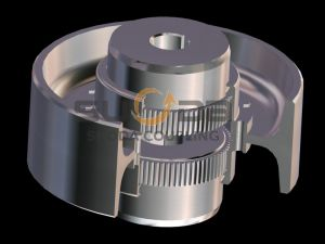 Ngcl Gear Coupling with Break Drum pictures & photos